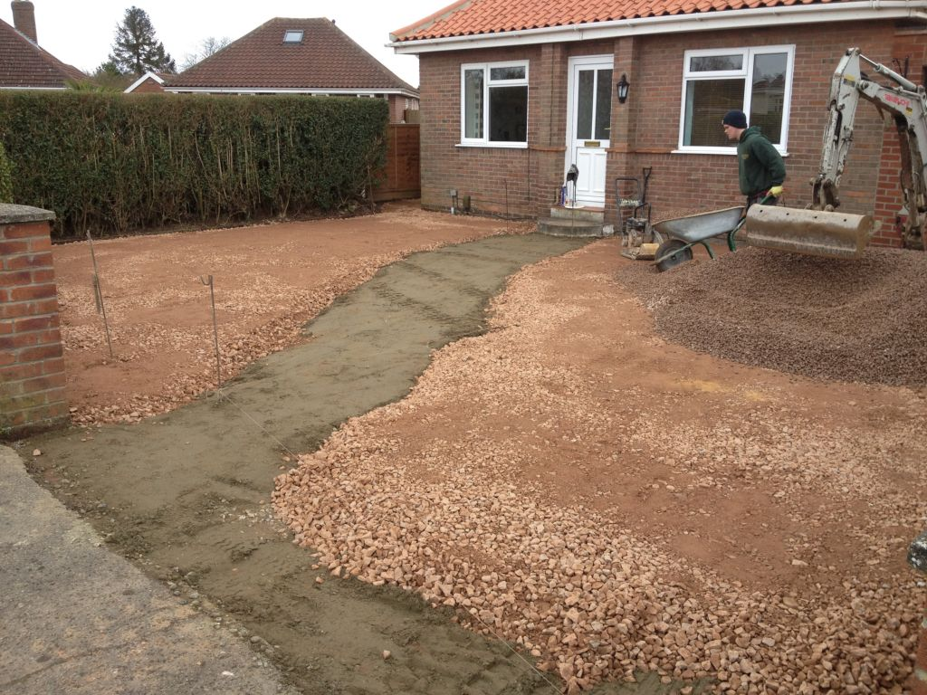 Best Gravel For Driveways Stone : Stone shingle gravel driveways in norwich norfolk
