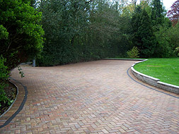 Omega brickweave paving in Norwich